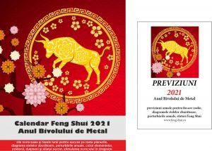 Calendar Feng Shui si previziuni 2021 in limba română